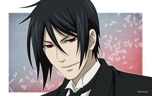 Sebastian Michaelis by Morrow-x
