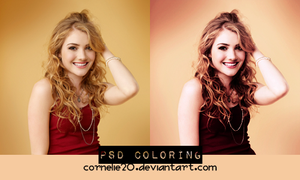 PSD coloring by Cornelie20