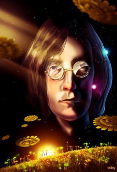John Lennon by Ecstatic-ectsy
