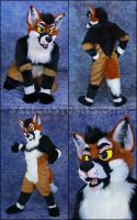 Maned Wolf by jillcostumes