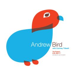 Andrew Bird Poster by goodmorningvoice