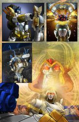 Transformers - Cybertronians page 19 color by shatteredglasscomic