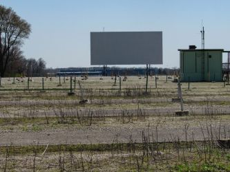 Abandoned Drive-in by FairieGoodMother