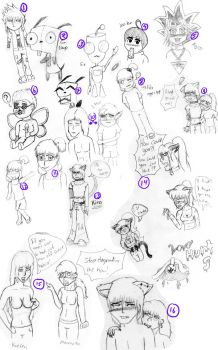 Sketch dump two by EnchantedNinja