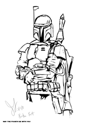 Fett Lines by LadyPep