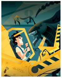 Aliens commission by Montygog