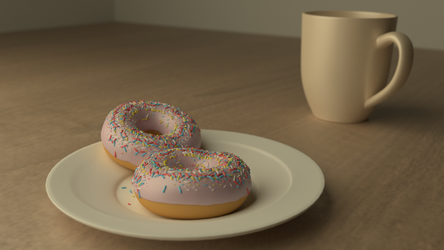 Morning Doughnuts by TallPaul3D
