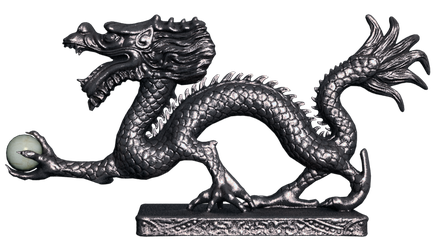 Chinese Dragon PNG Stock by Roy3D