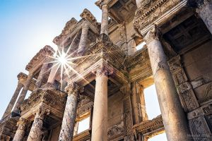 Library of Ephesus by m-eralp