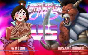 Cccjams: Fa Mulan v. Hasami Jaguar by Karate-Chop