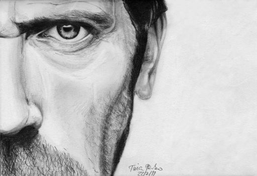 Hugh Laurie by tinaperko