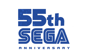SEGA 55th Anniversary Logo by NuryRush