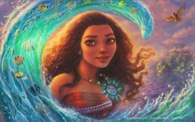 Moana by marurenai