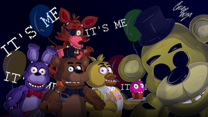 FNaF 1 Wallpaper by CircusFacza