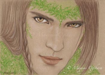 Guardian of the Forest - sketch by MayumiOgihara