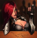 Katarina Fan Art by KryptnKnight