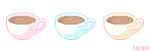 Coffee Pixels by LilMissSunBear