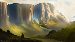 Environment concept art 2 by Narholt