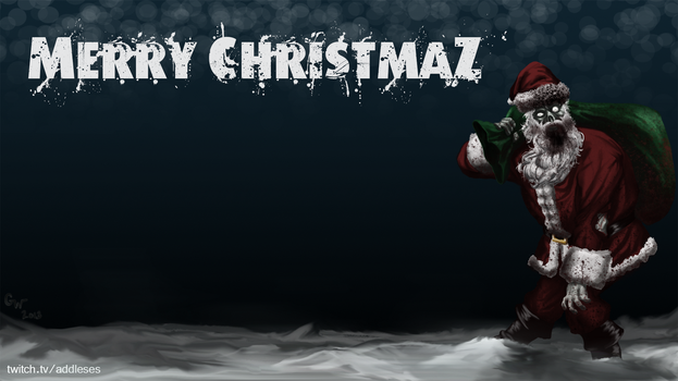 DayZ Santa - Wallpaper by addleses
