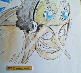 Captain Usopp by exoofink311