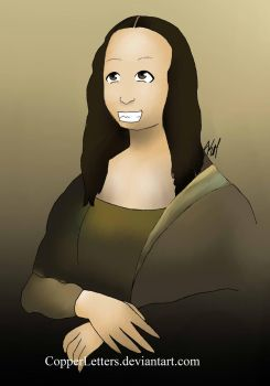 REQUEST - Mona Lisa by CopperLetters