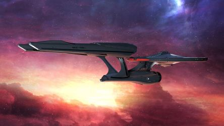 Enterprise (refit) 2 by The-Didact