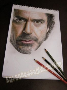 Robert DOWNEY Jr. WIP IIII by im-sorry-thx-all-bye