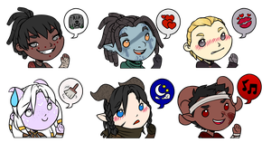 Cheebs for Rainbow-Mystique by RoseandherThorns
