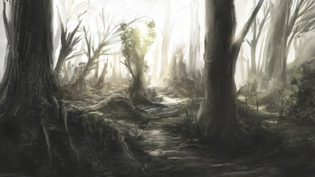 The Swamp by Alexlinde