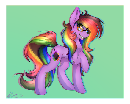 B.G.A.: Rainbow Screen by HarmoniousRain