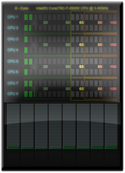 CPU VU meter 1.2.2 by drakullas