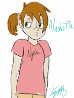 Nadetta Madley Sketch by Pixel-Program