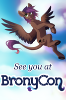 See you at Bronycon by SilentWulv