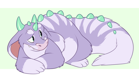 Fluffy Dragon by AidenMonster