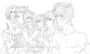 The Cast by Kairorian