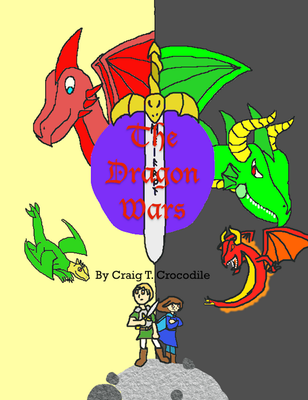 The Dragon Wars cover by Gontopia-Realm