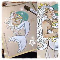 Character Commissions ~ Mermaid 3 by MarieJaneWorks