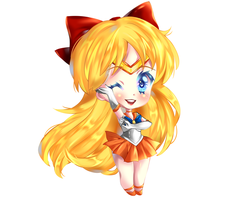 Sailor Venus by RavenMomoka