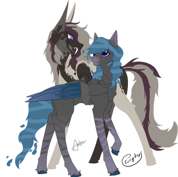 Foster x Hurrican by Amber2206