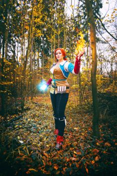 Triss Merigold cosplay - Magic by TynaCosplay