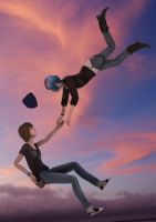 Life is Strange: Free Fall by PedroAbecassis