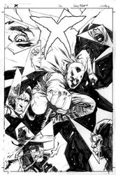 X 12 cover inks by thisismyboomstick