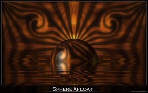 Sphere Afloat by cjmcguinness