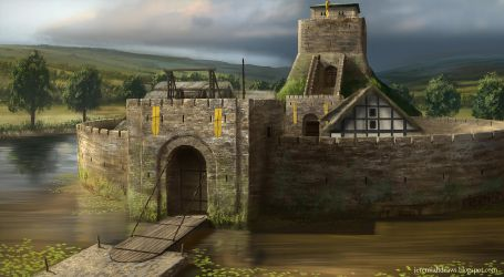 Castle Number 3 by J-Humphries