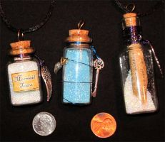 Bottled Happiness Charms 4 by lady-cybercat