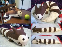Furret Plush by RacieB