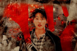 Jungkook (Stranger Things) by Claritaxx
