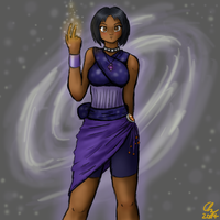 Nava, Entropy Mage by AzaleaCloud