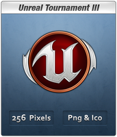 UT3 Badge Vista Ready Icon by Th3-ProphetMan