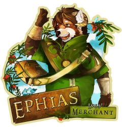 EF 21 Badge - Lv. 63 Merchant by CruzRobin